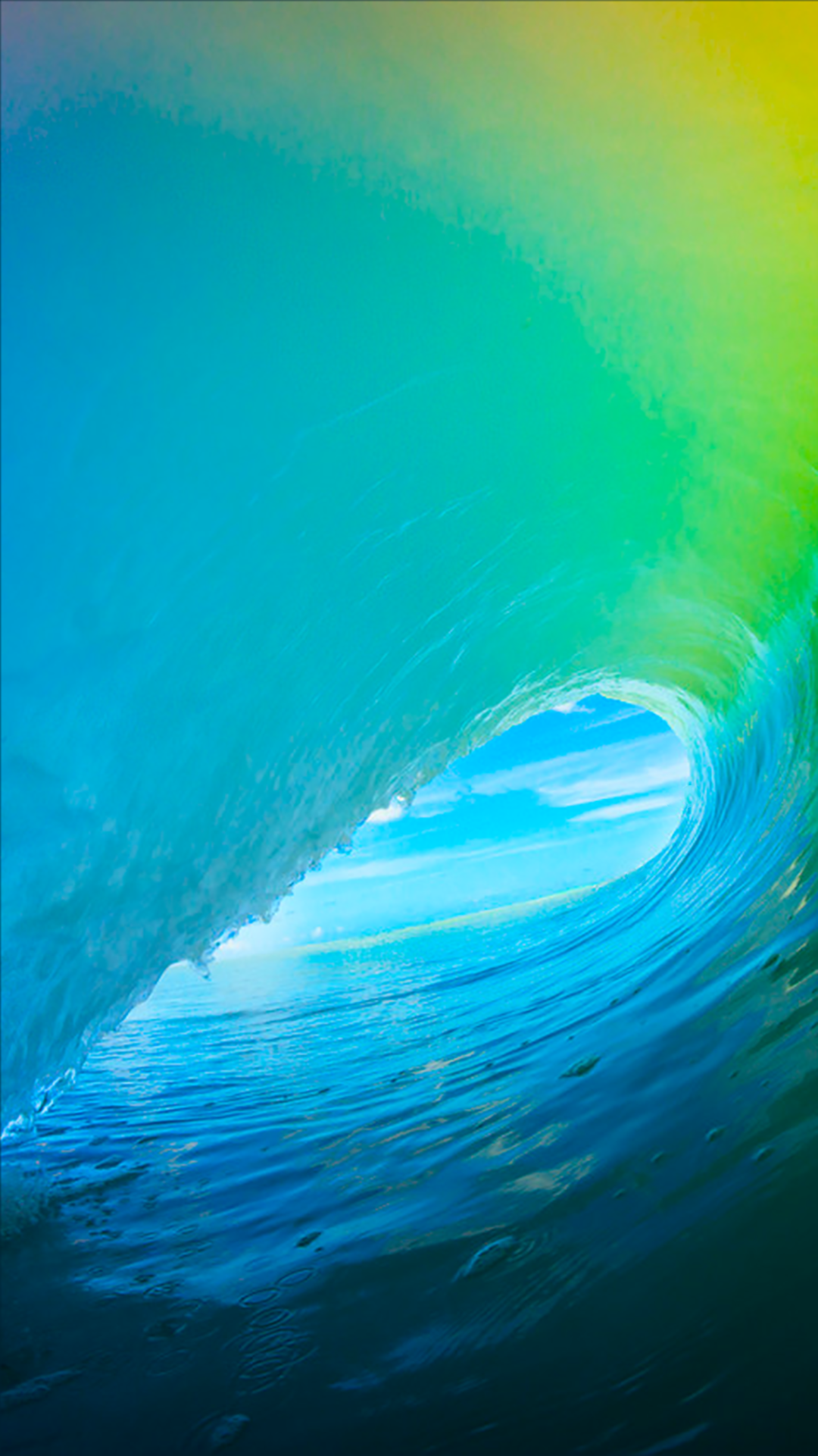 Wave Android wallpaper