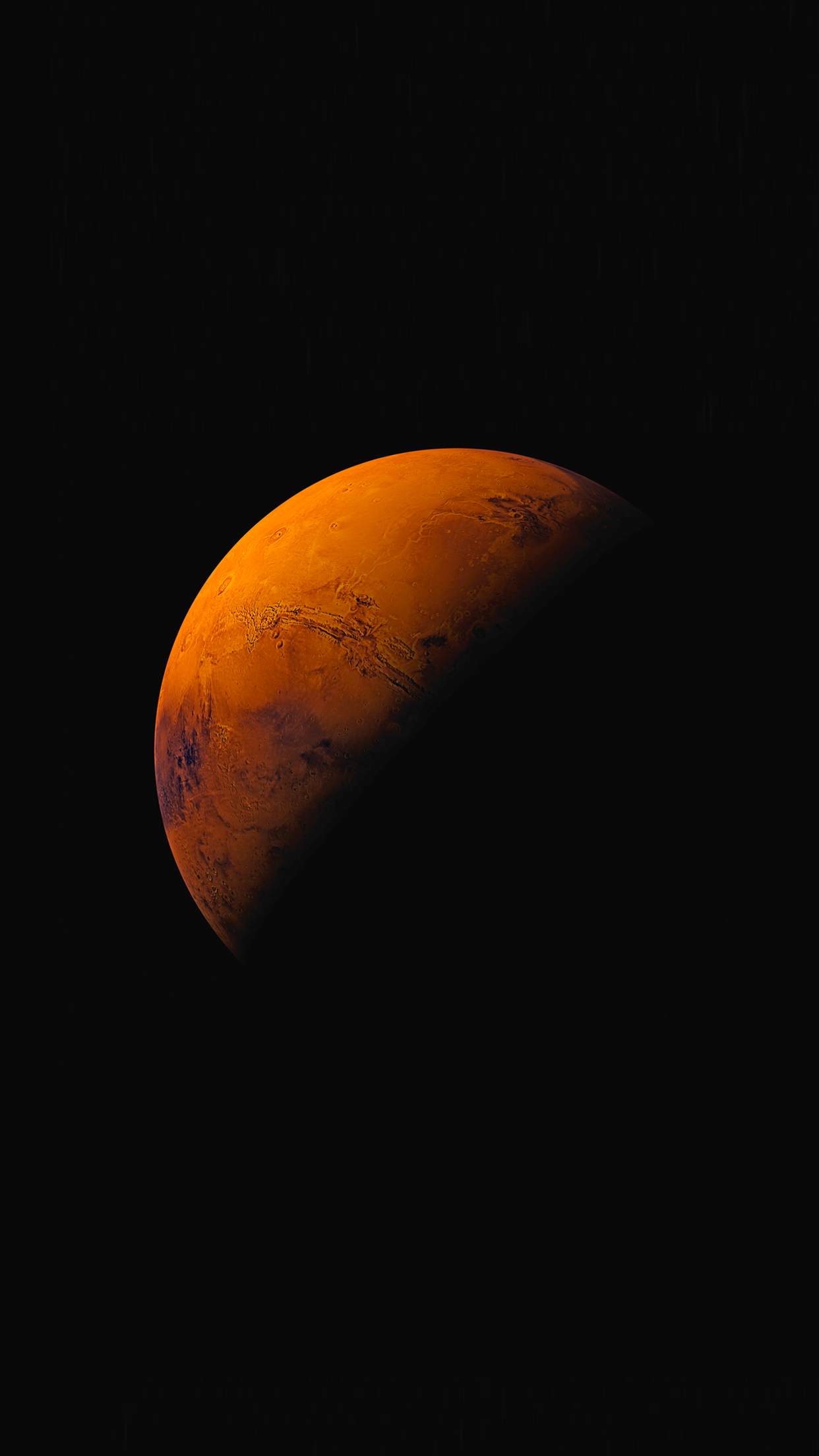 Mars iPhone wallpaper Android wallpaper