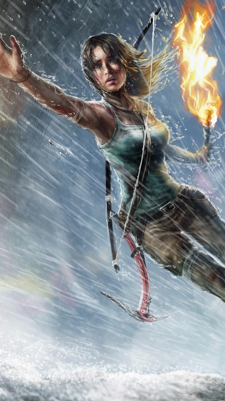 Lara Croft Tomb Raider Android Wallpaper Android Hd Wallpapers
