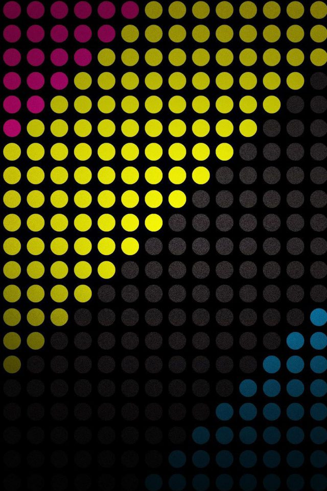 Abstract Dots Android wallpaper