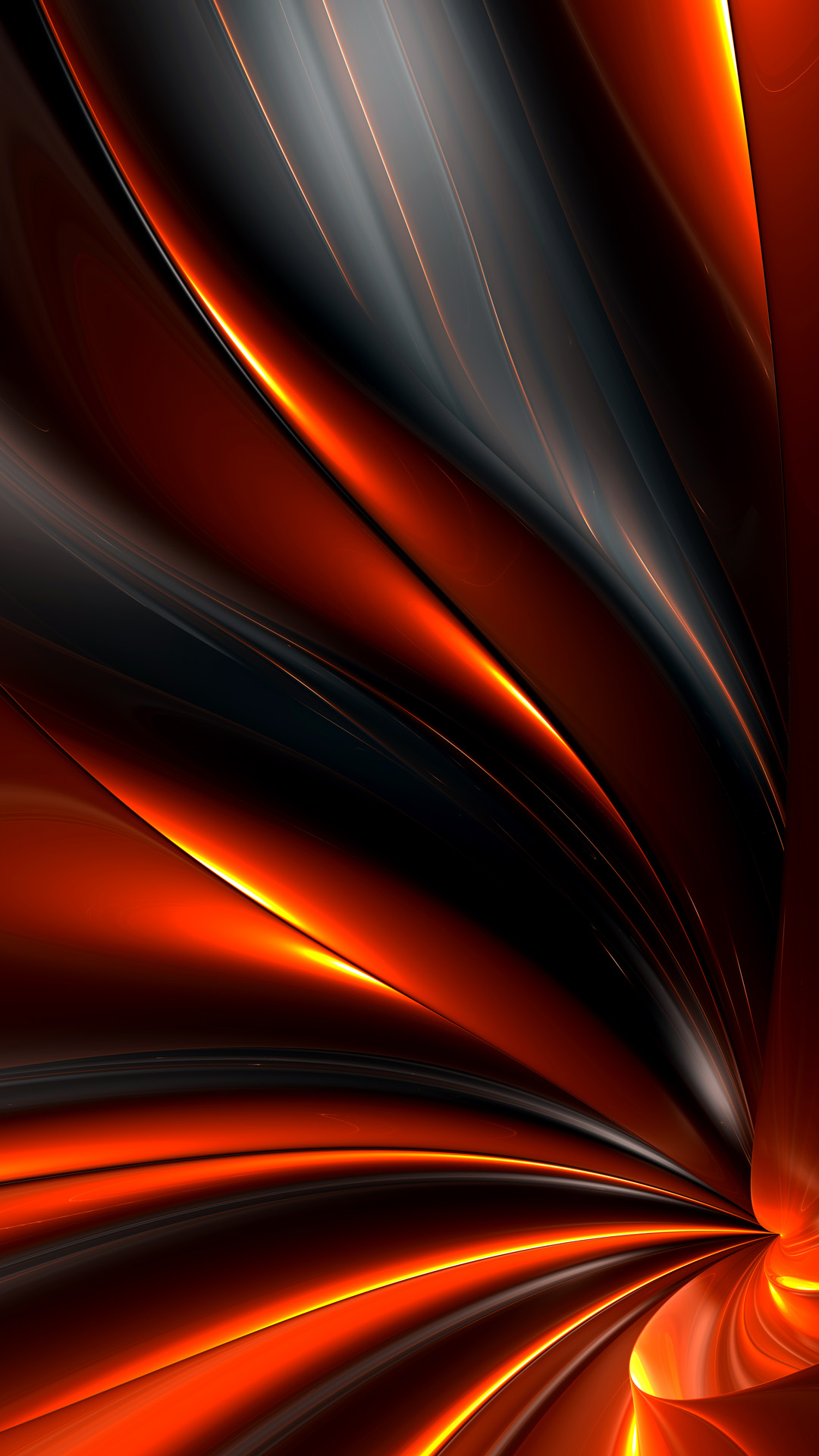 Abstract Fire Android Wallpaper