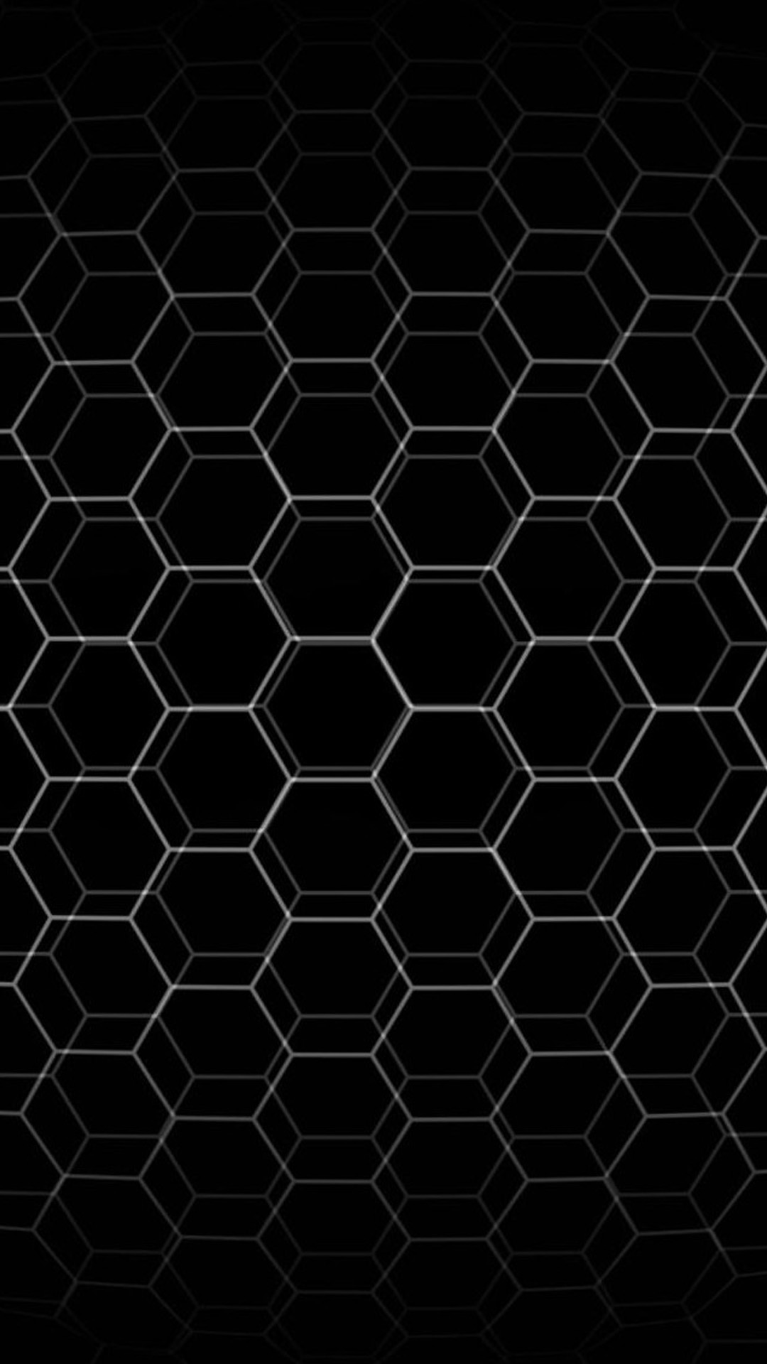 abstract hexagon