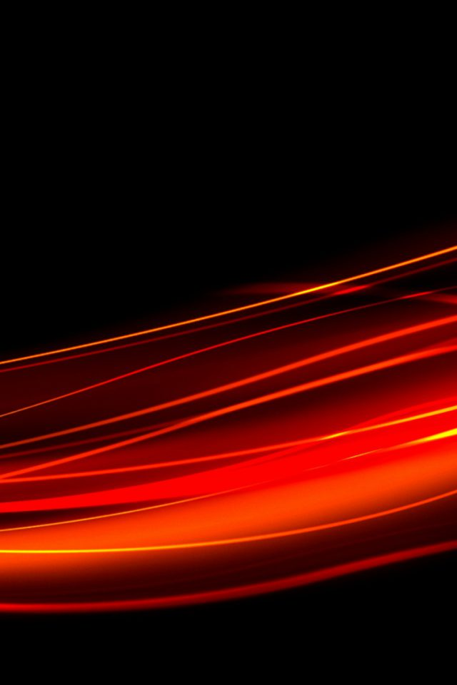 Abstract Orange Black Android wallpaper