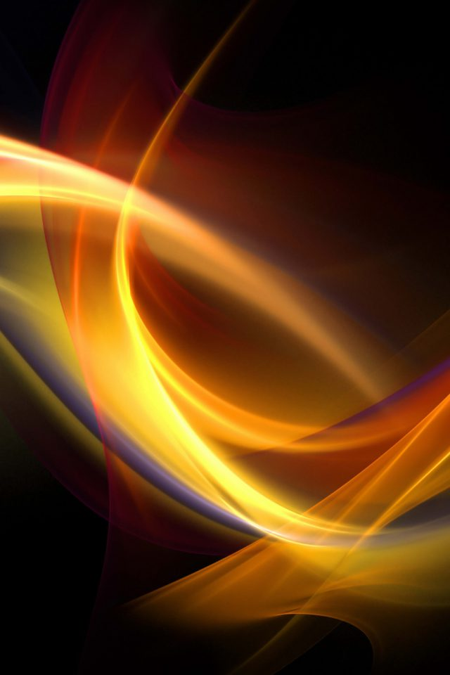 Abstract Yellow Blue Android wallpaper