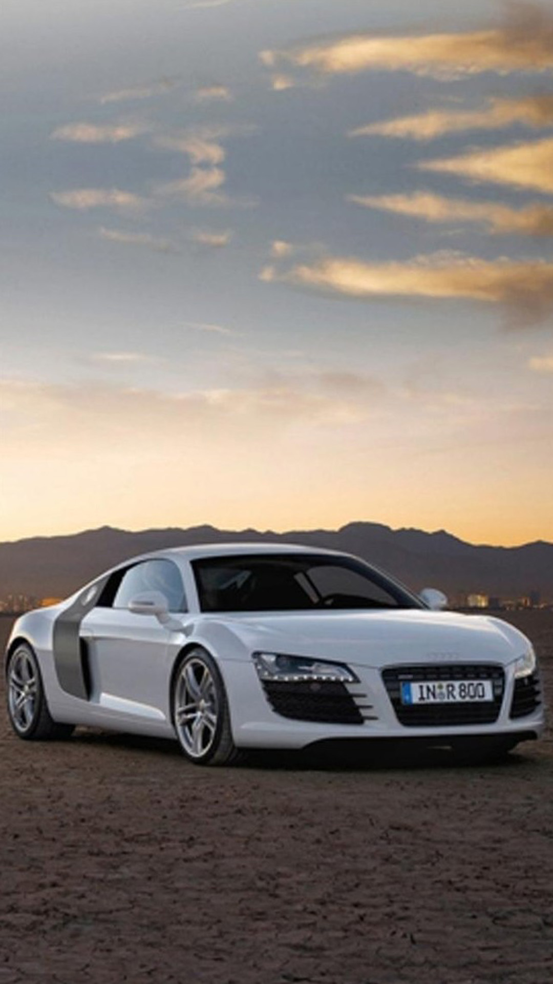 Audi R8 Sunset Android Wallpaper Android Hd Wallpapers