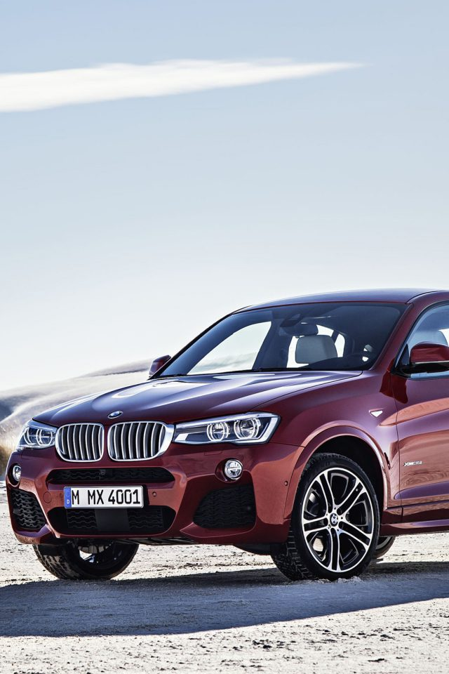 BMW X4 Landscapes Android wallpaper