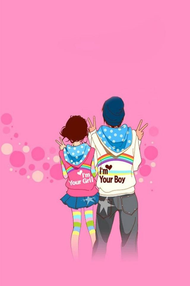 Boy Girl Love Android wallpaper