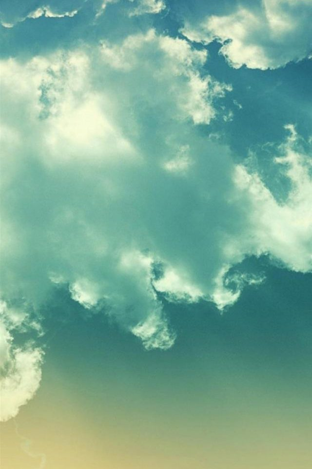 Cloudy Sky Android wallpaper