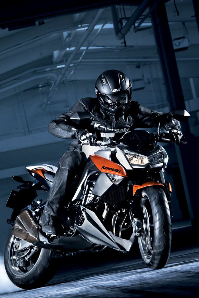 Cool Kawasaki Motorcycle Android wallpaper