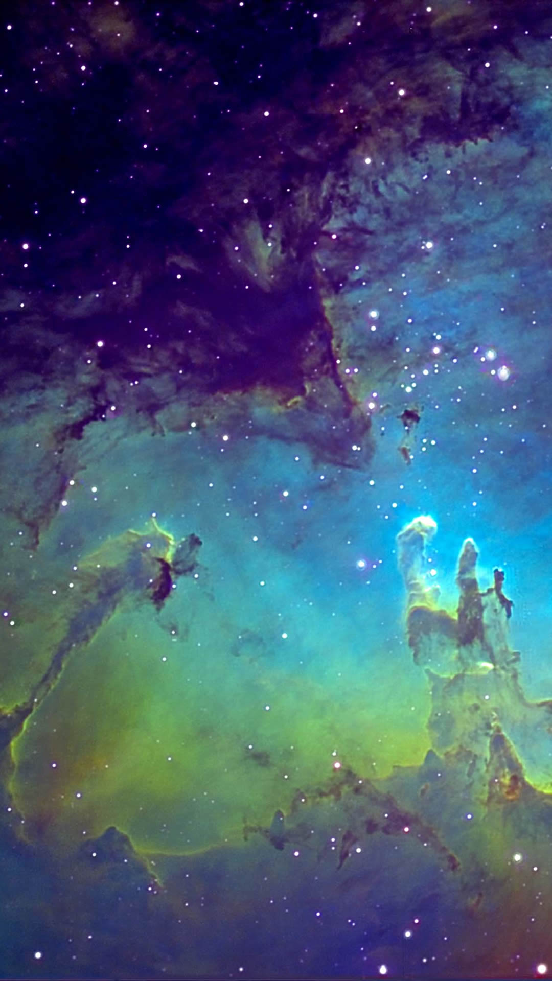 fantasy nebula space android wallpaper - android hd wallpapers