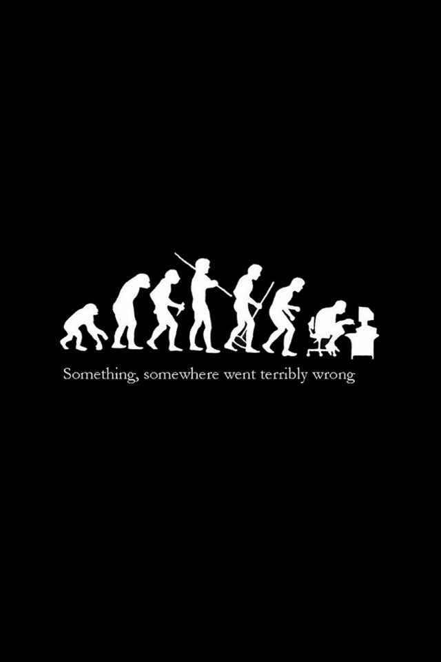 Human Evolution Android wallpaper