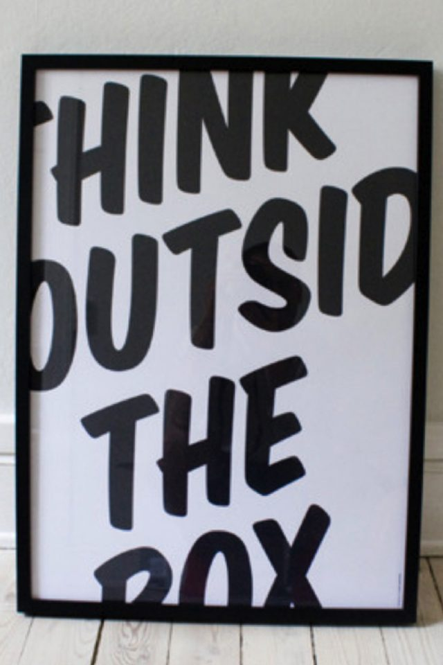 Think Outside The Box Android wallpaper