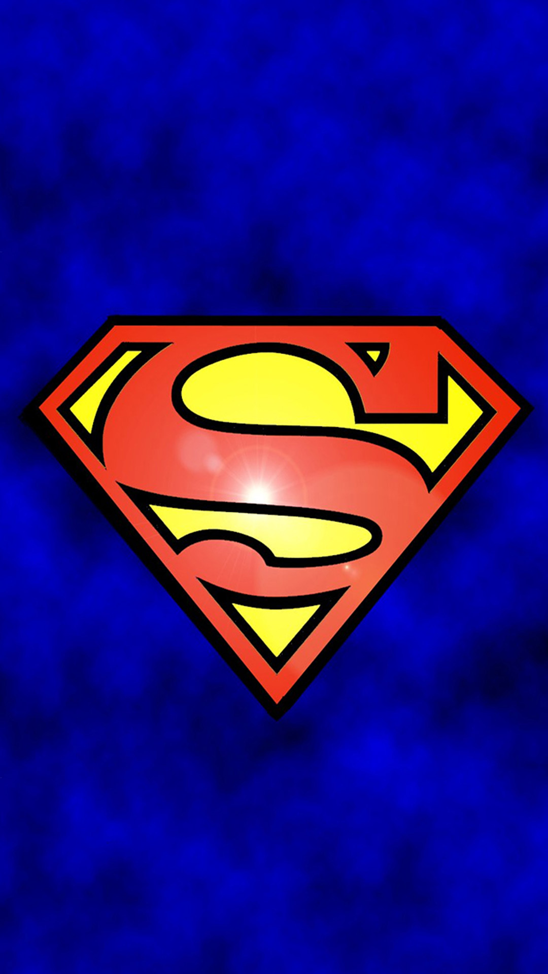 Superman Logo Android wallpaper