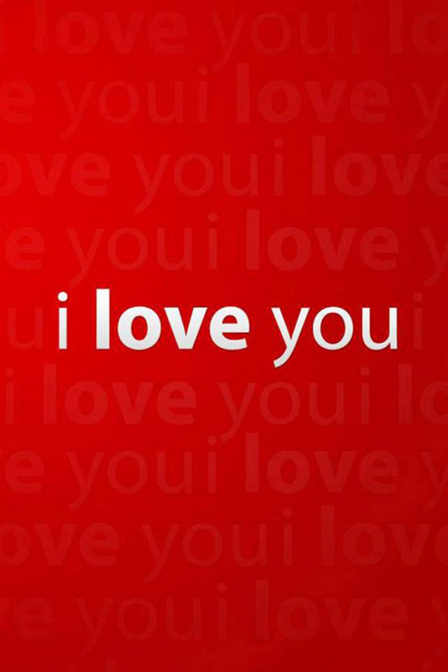 I Love You Android wallpaper