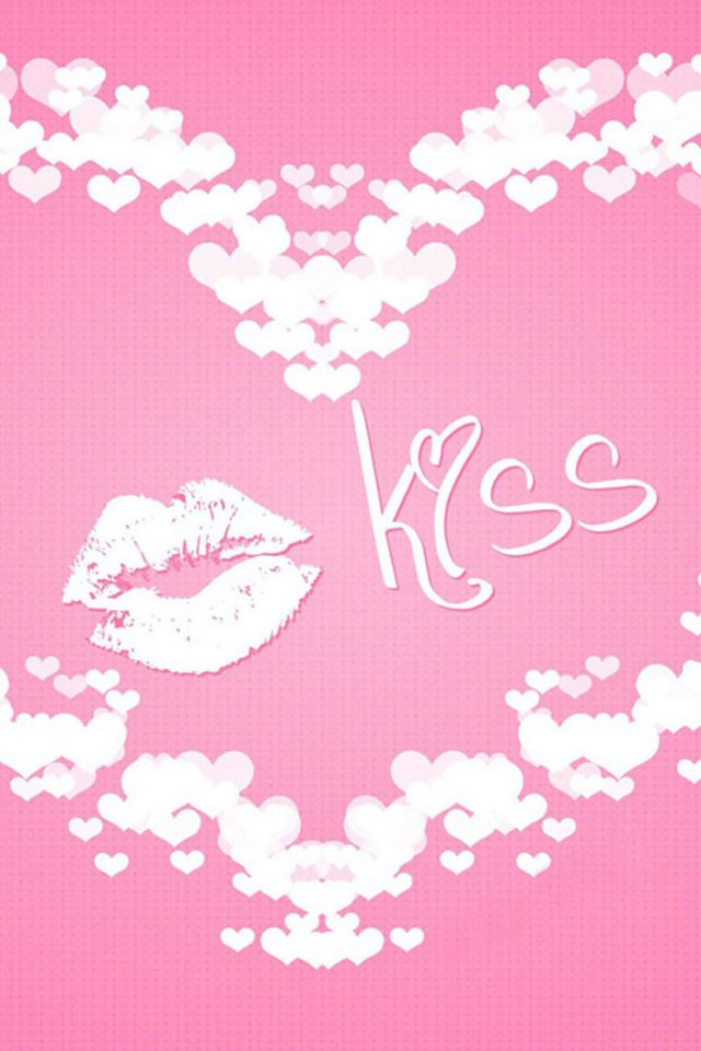 Kiss Love Android wallpaper