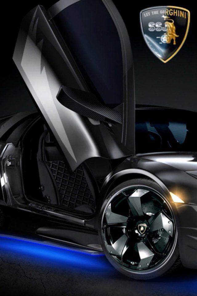 Lamborghini Car Bat Android wallpaper