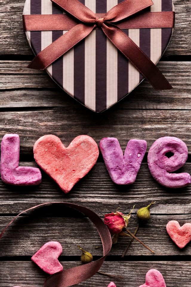 Love Candies Android wallpaper