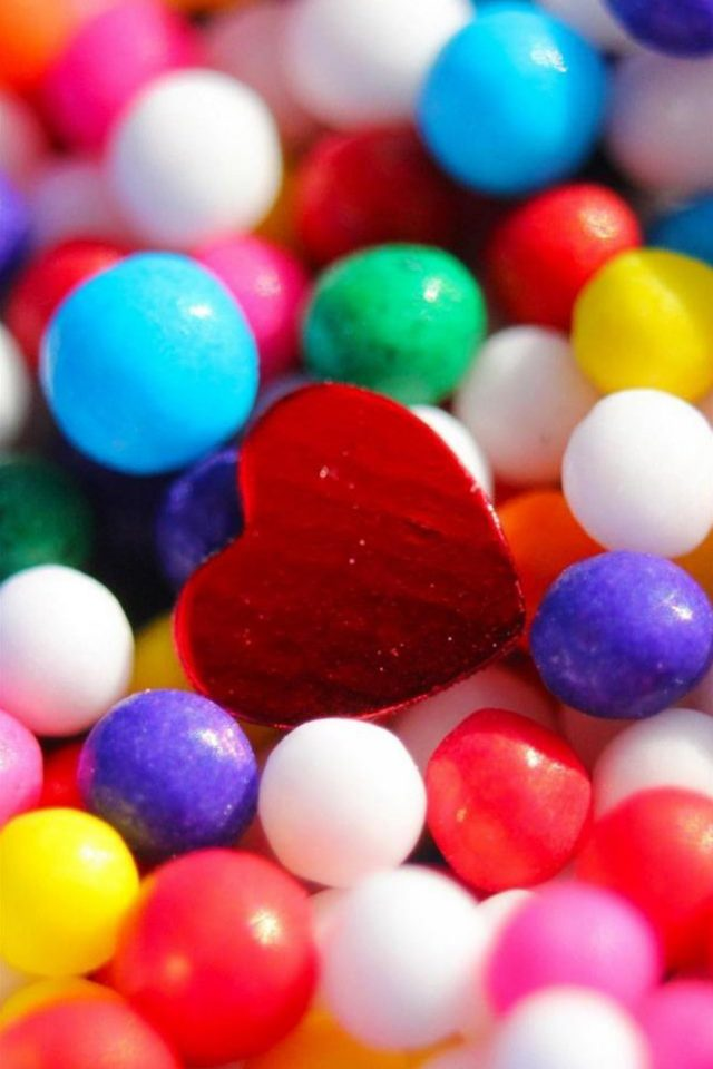 Love Candy Sweets Android wallpaper