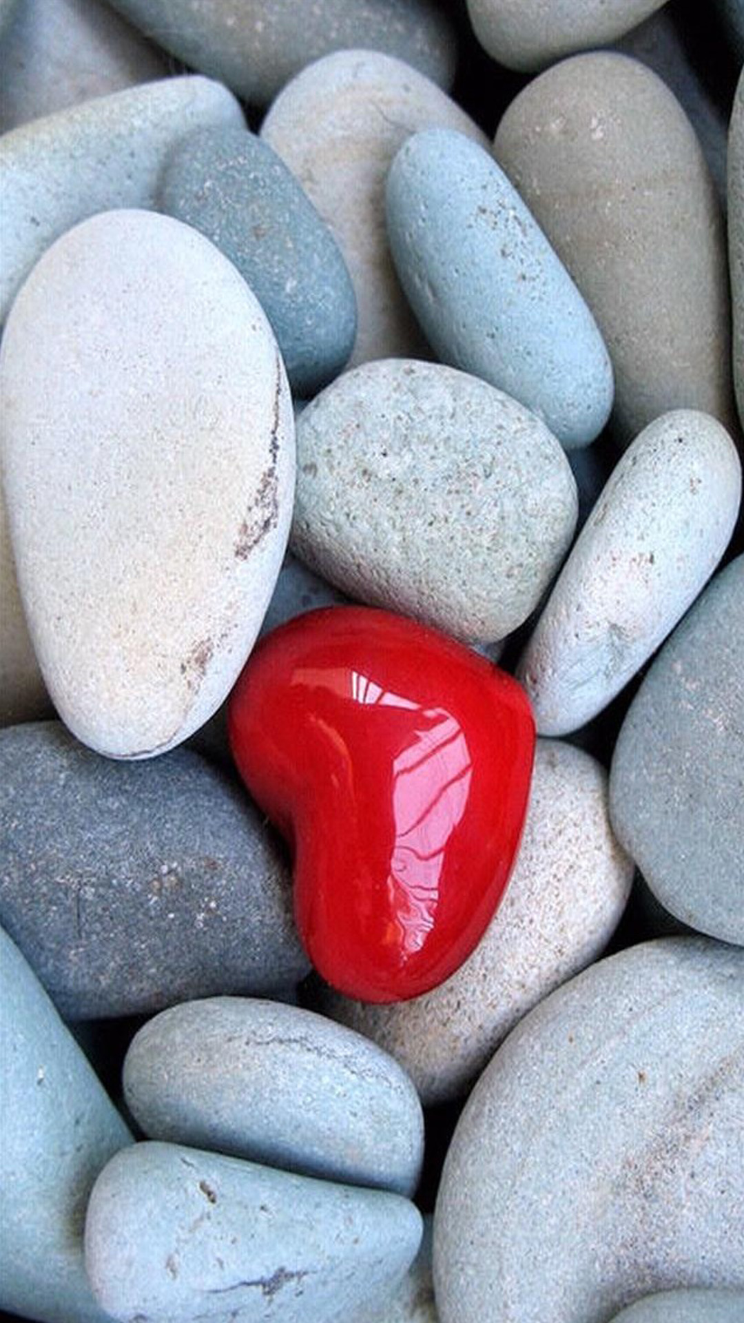 Love Heart Stone Android Wallpaper Android Hd Wallpapers