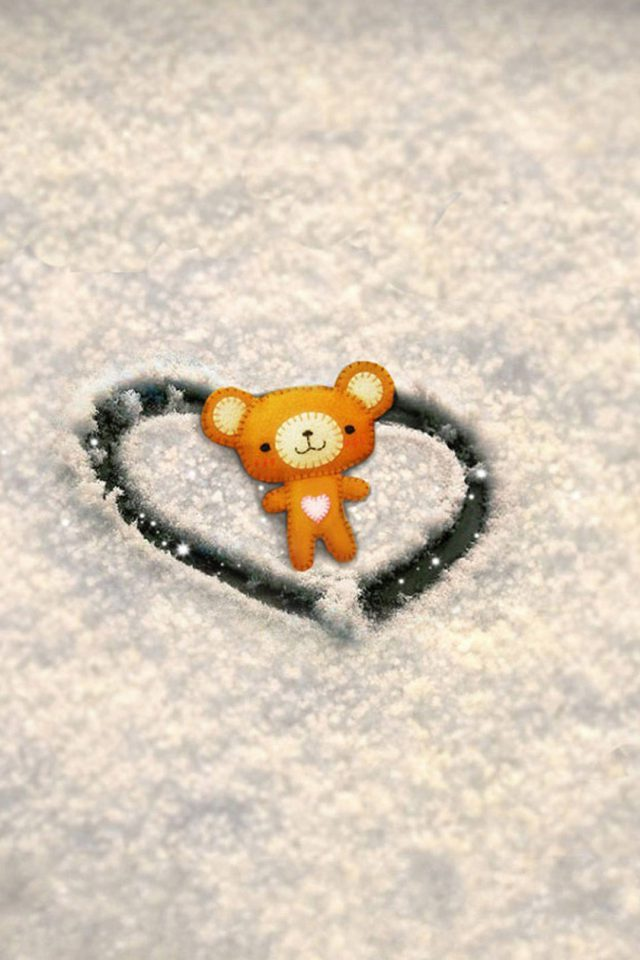Love Wallpaper Snow Android wallpaper
