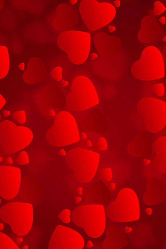Love iPhone Hearts Android wallpaper