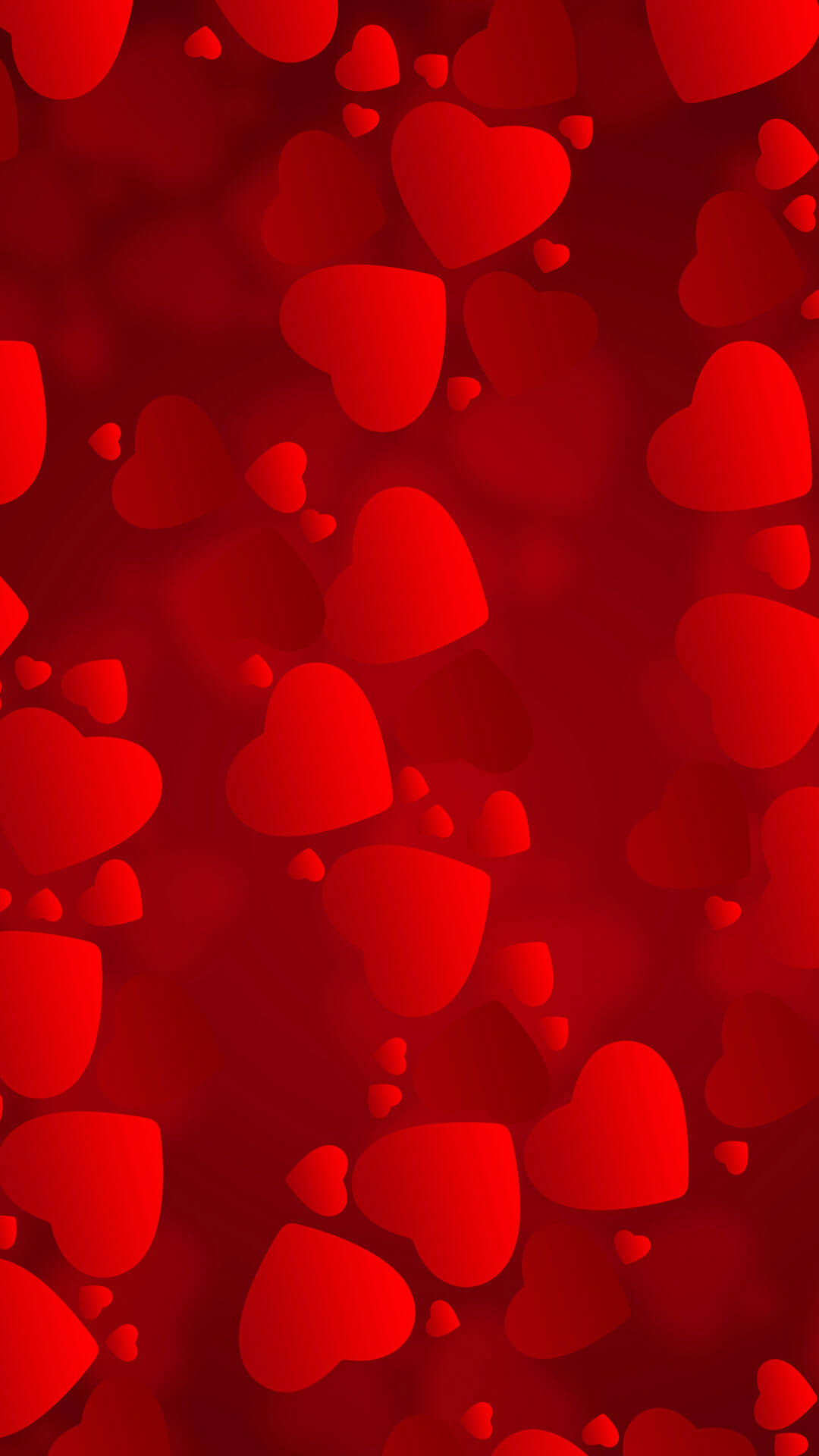 love iphone hearts android wallpaper - android hd wallpapers