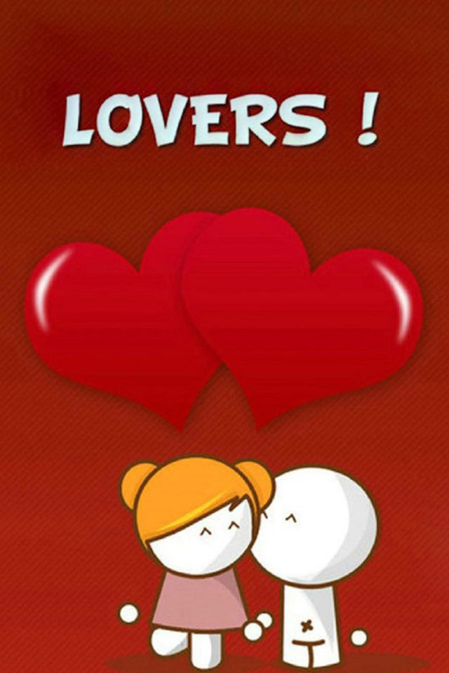 Lovers Android wallpaper