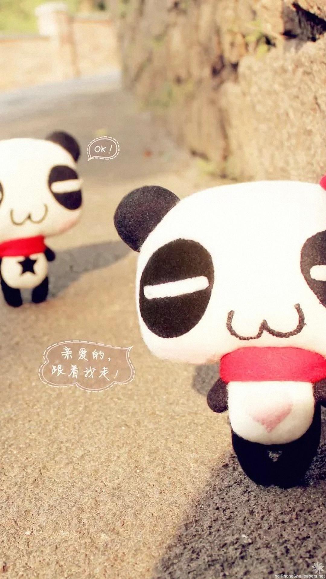 Panda Love Japan Android Wallpaper Android Hd Wallpapers