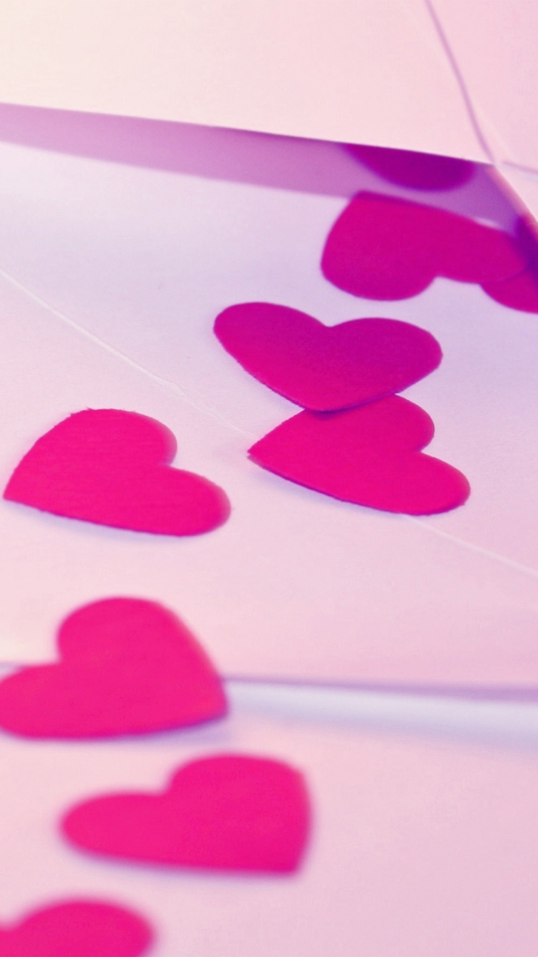 Good Wallpaper Love Iphone 7 - Pink-Hears-Love  HD_30335.jpg