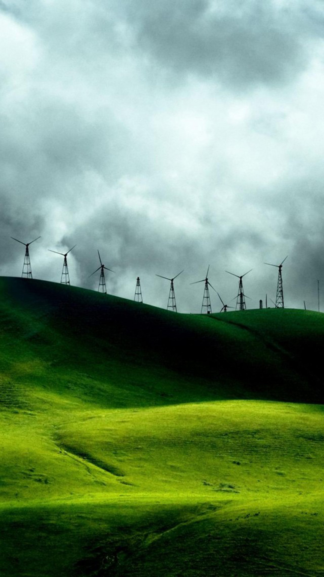 Turbines Landscape Mountains Android Wallpaper Android Hd Wallpapers