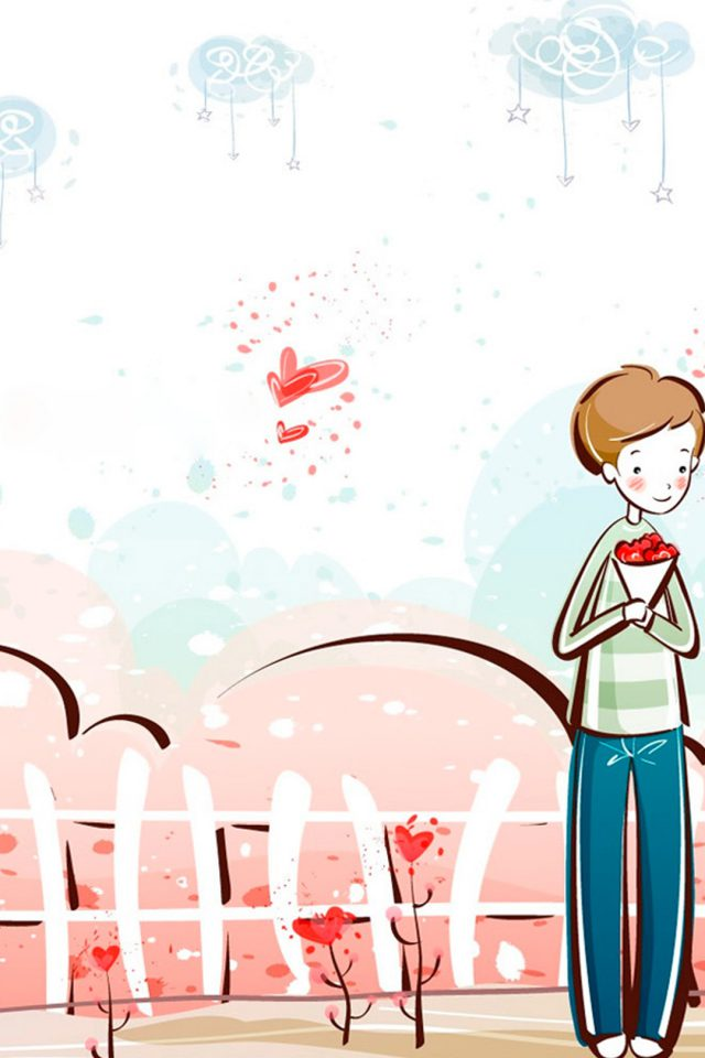 Valentine Love Android wallpaper