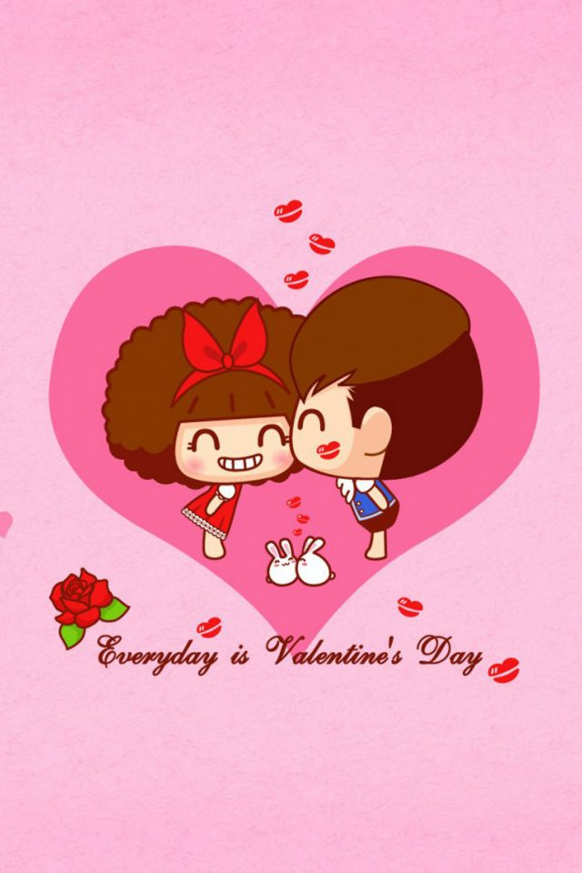 Valentines Day Love Sweet Android wallpaper