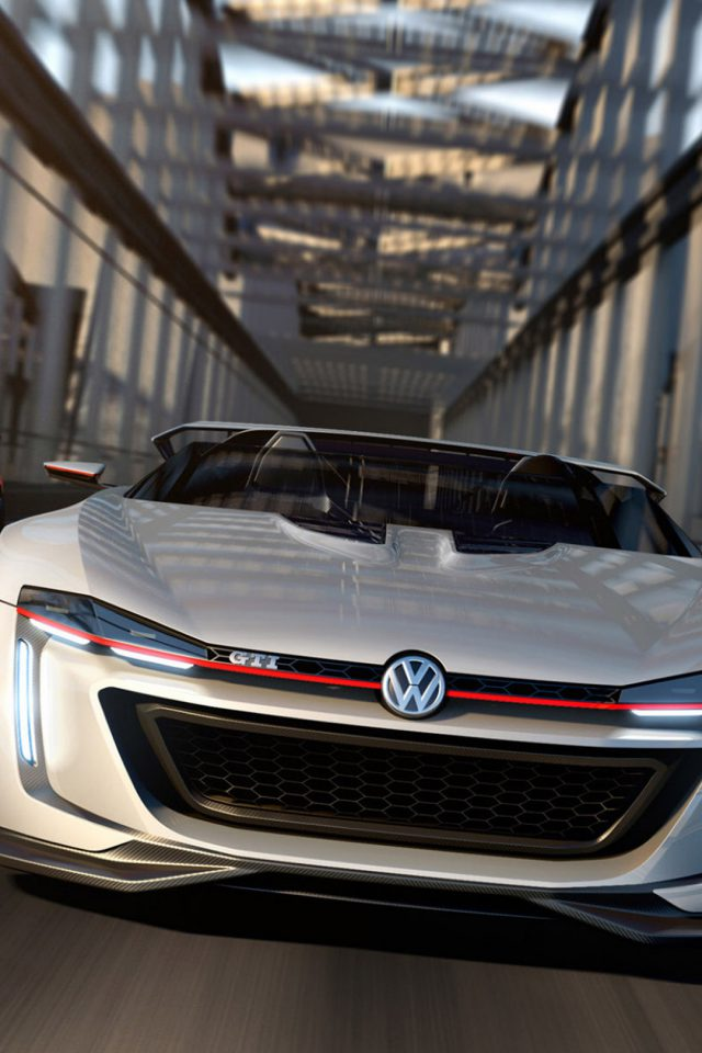 Volkswagen GTI Roadster White Android wallpaper
