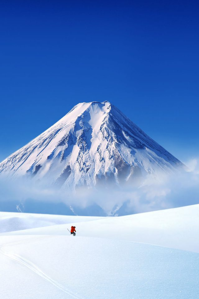 Snow Landscape Android wallpaper