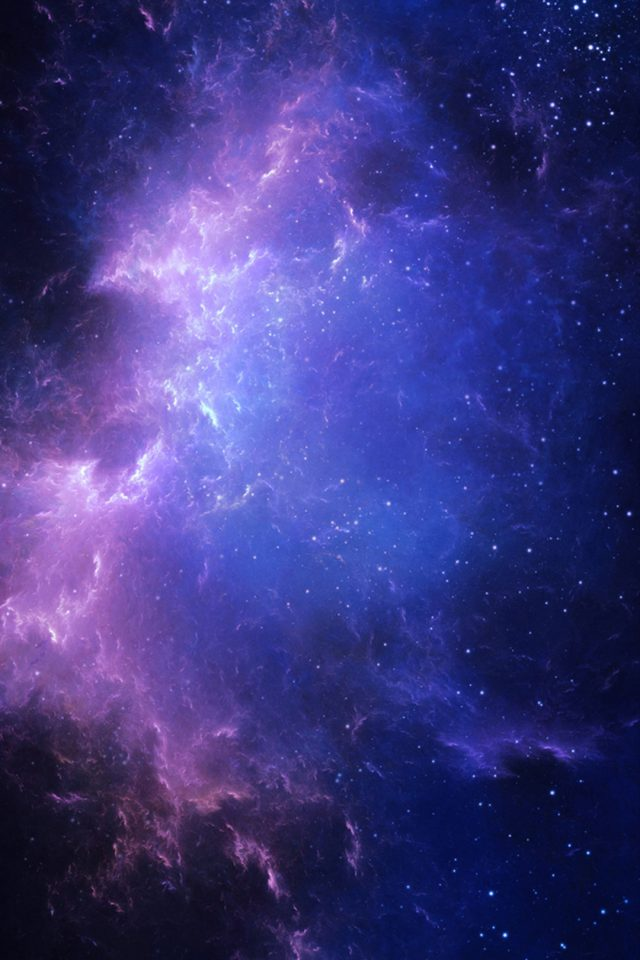 Deep Space Nebula Android wallpaper