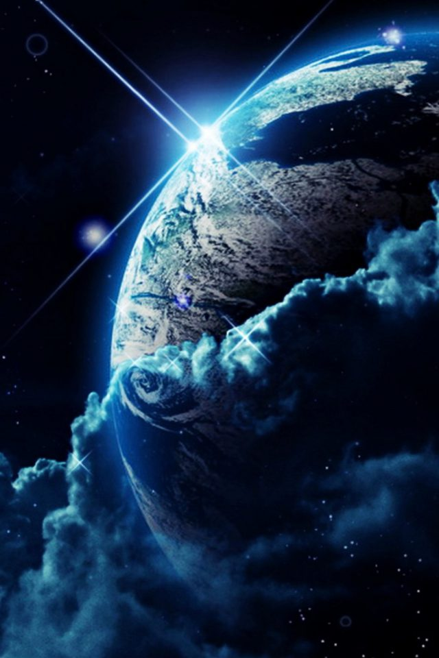 Planet Earth Android wallpaper