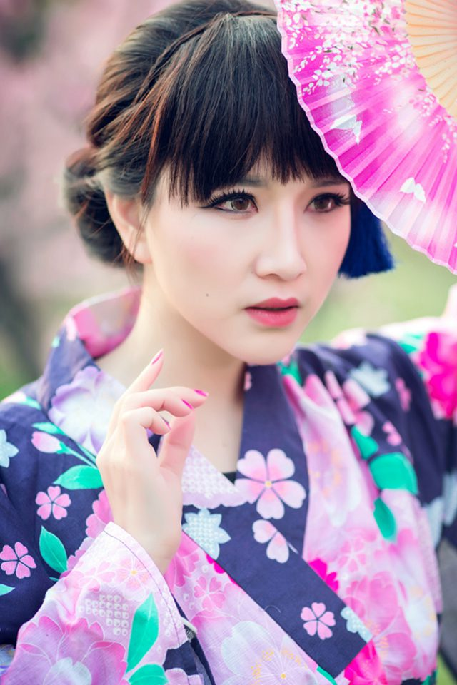 Cosplay Japanese culture Android wallpaper