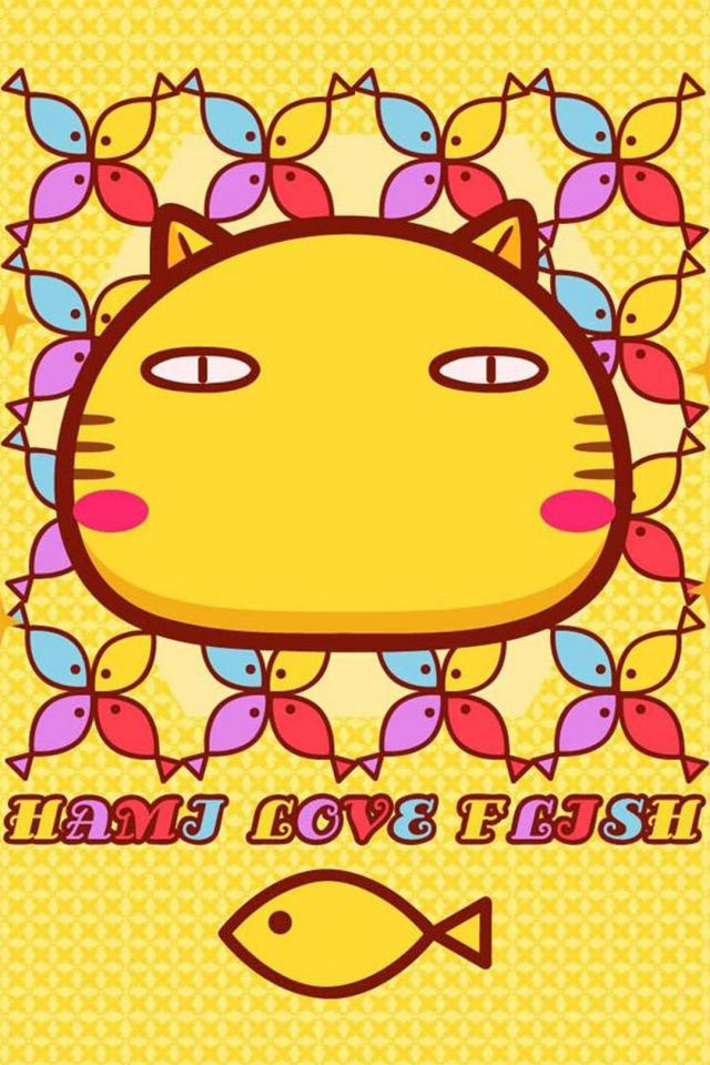 Hami Love Fish 2 Android wallpaper