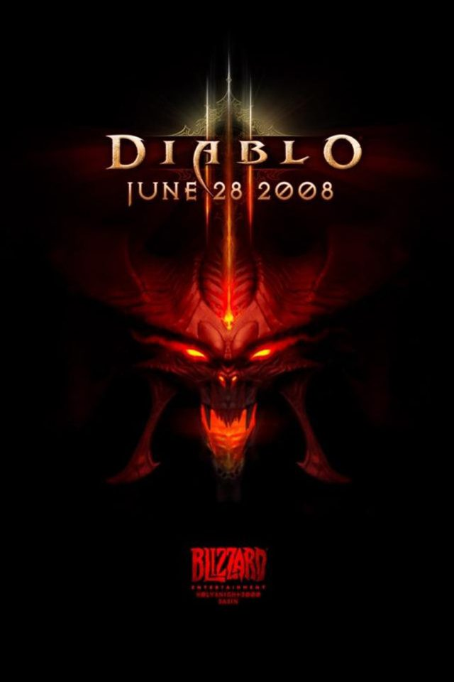 Diablo Logo Android wallpaper