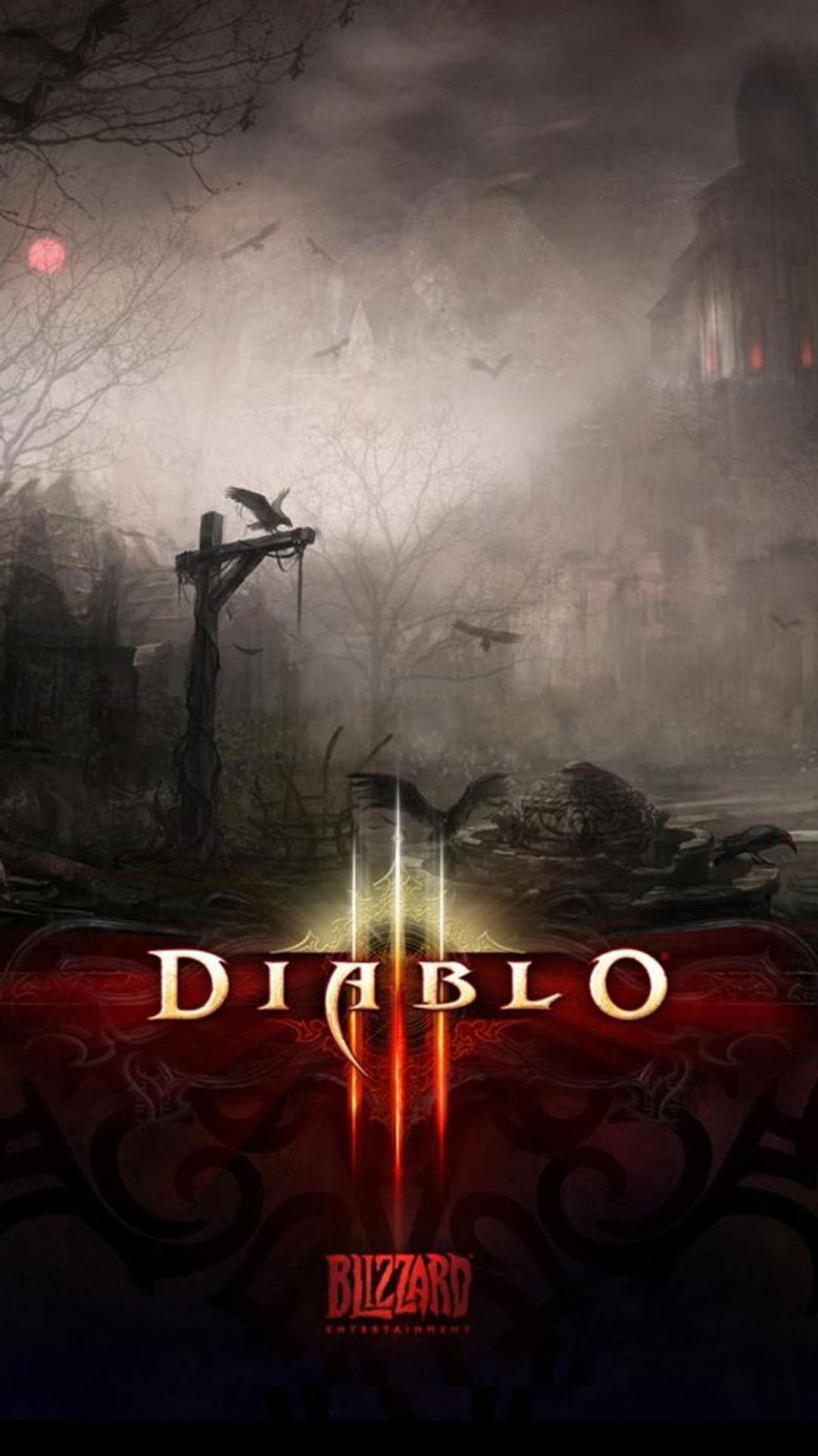 Diablo 3 Darkness Android wallpaper