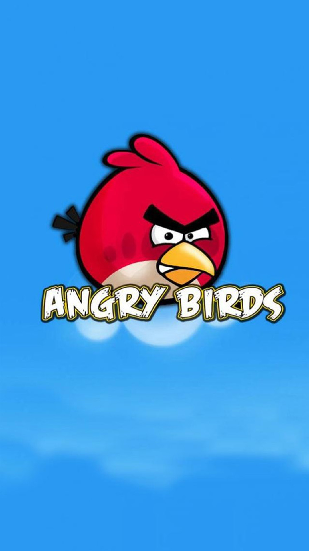 Angry Birds Intro Android wallpaper