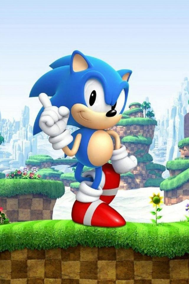 Sonic the Hedgehog 3D Android wallpaper