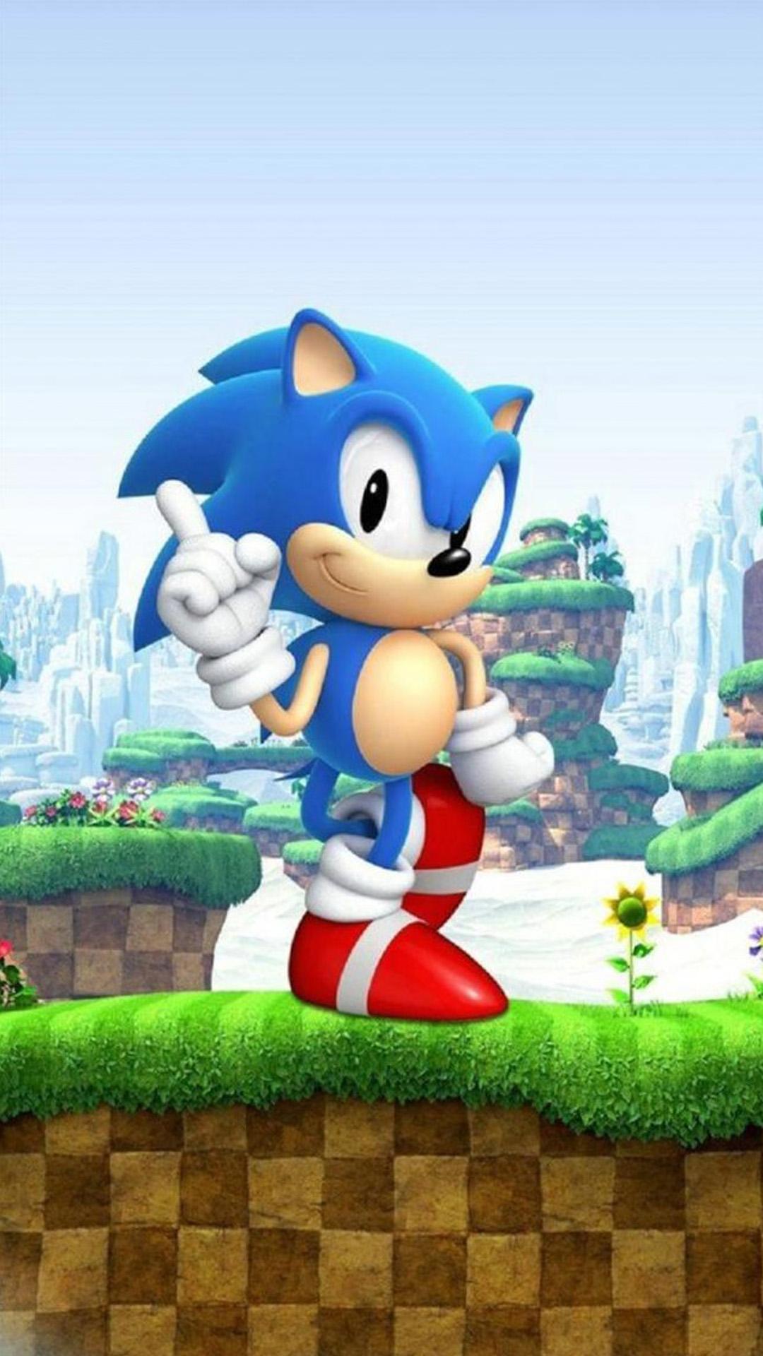 Sonic The Hedgehog Mobile Wallpaper