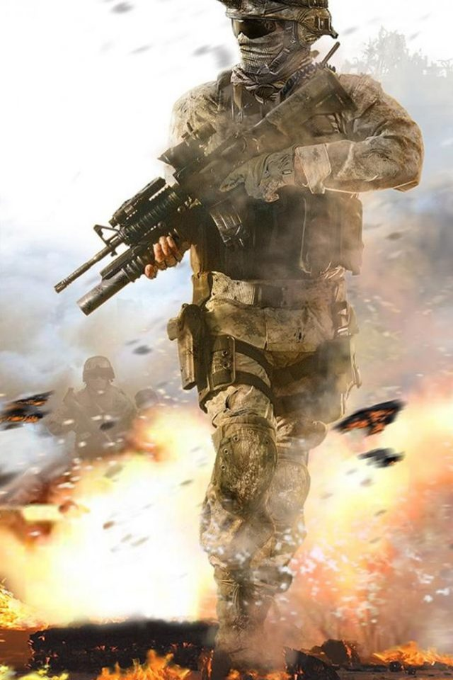 Call of Duty Soldier Android wallpaper