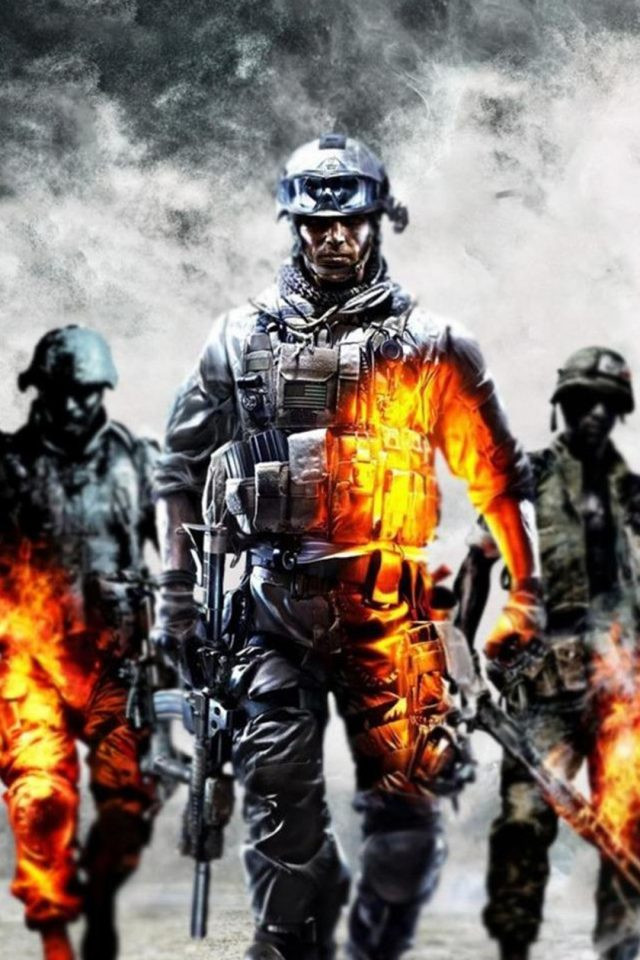 Call of Duty Ghosts Bokeh Blur Android wallpaper