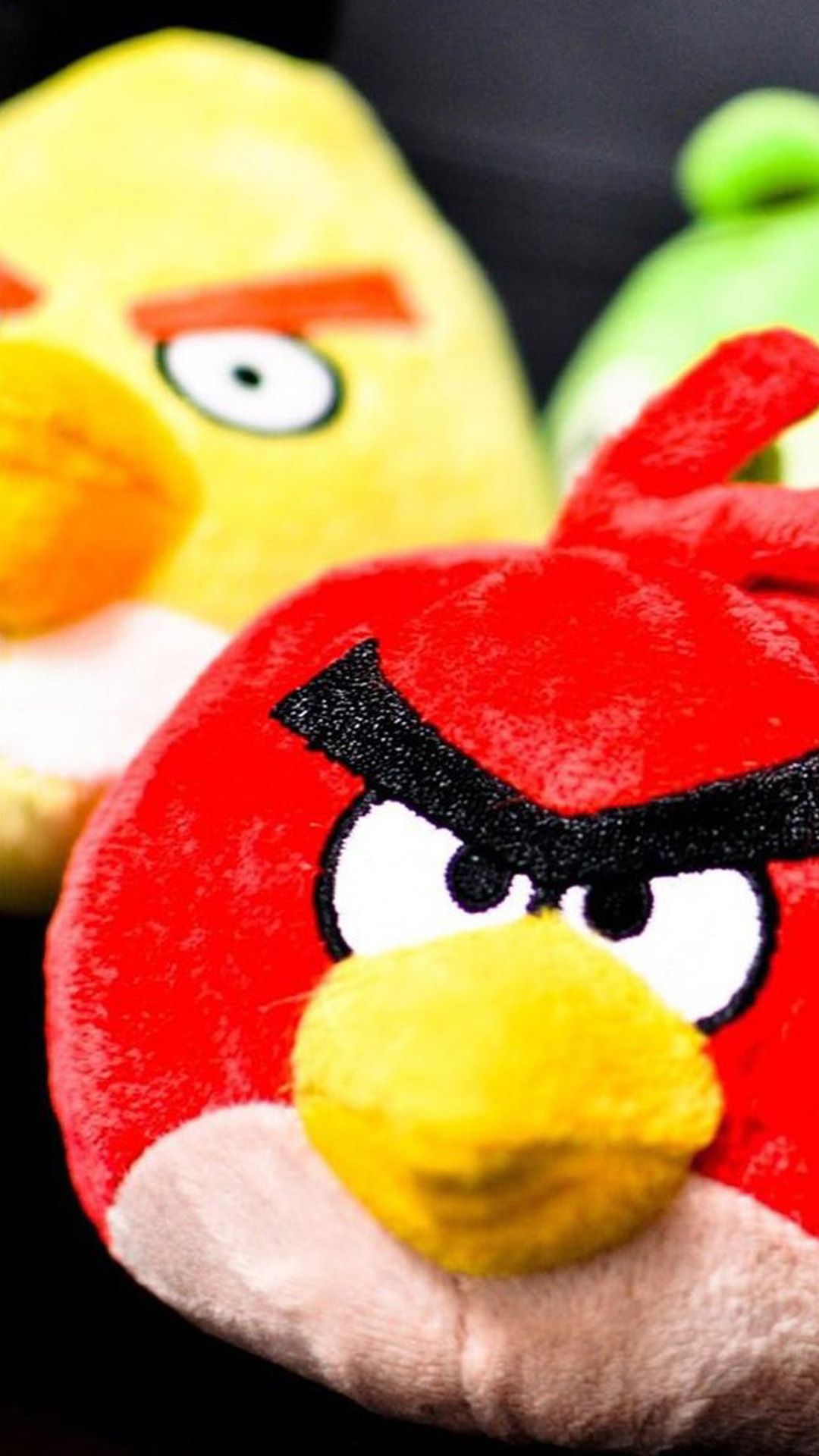 Real Angry Bird Toy Android wallpaper