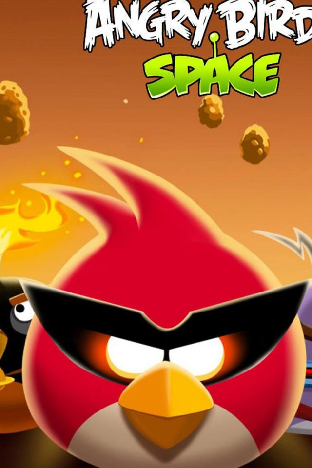 Angry Birds Space Android wallpaper