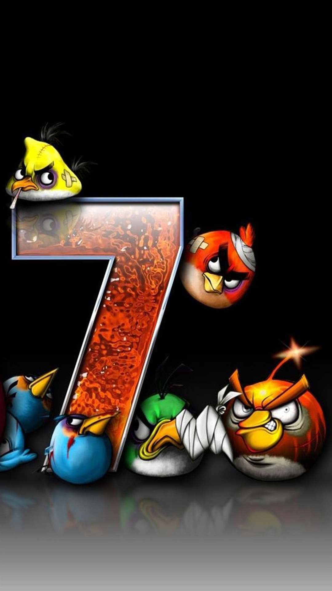 Angry Birds 7 Android wallpaper