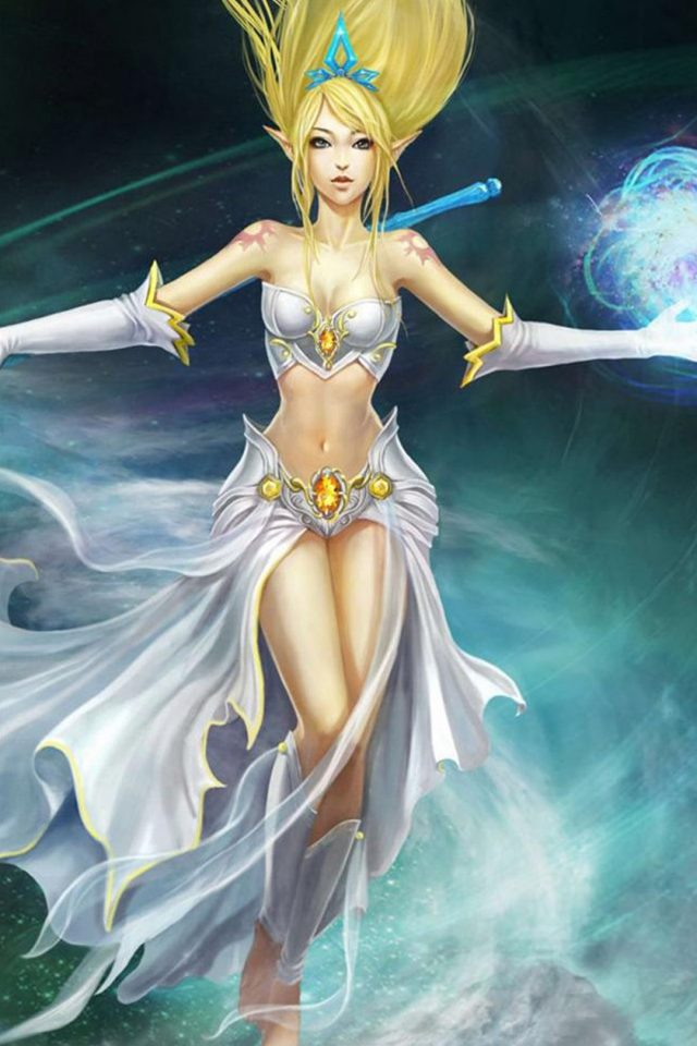 League Of Legends Girl Character Elf Android wallpaper