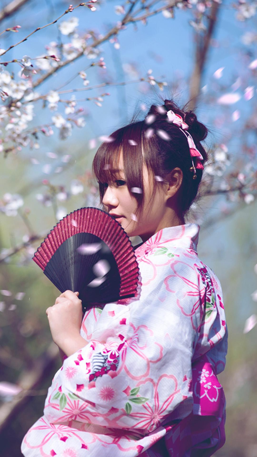 Japanese Girl Photo Wallpaper